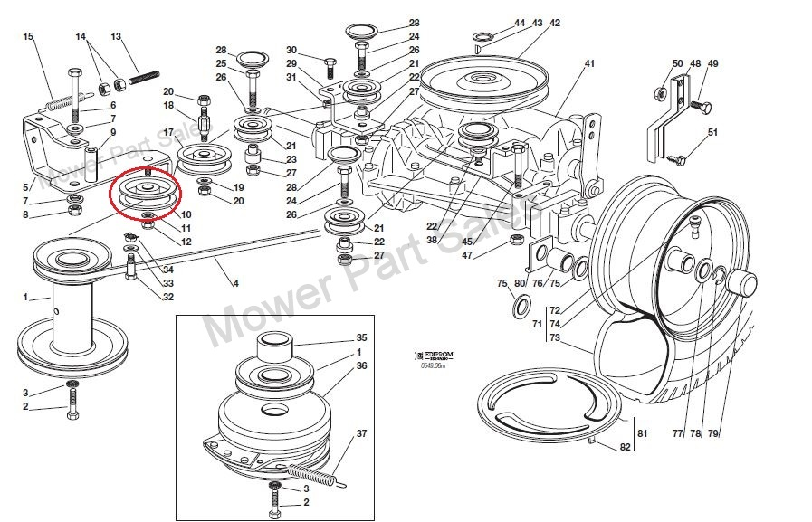 mitsubishi tractor wiring diagram with 42 Inch Craftsman Mower Deck Diagram on Ford 3600 Wiring Diagram further RepairGuideContent moreover Wiring Diagram Alternator in addition 2nd Gen 12v together with Showthread.